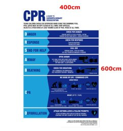 swimming pool spa cpr sign resuscitation chart warning safety sign pvc sticker cod [ 1200 x 1200 Pixel ]