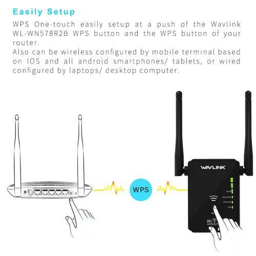 small resolution of wavlink ws wn578 2 4g 300mbps wireless router wifi repeater booster extender 2x5dbi antennas