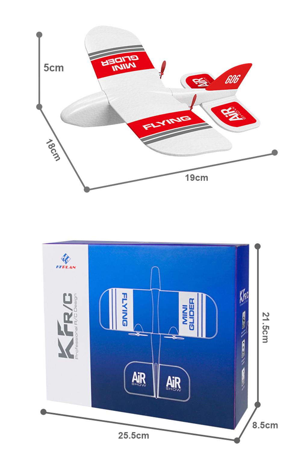 medium resolution of kfplan kf606 2 4ghz 2ch epp mini indoor rc glider airplane built in gyro rtf