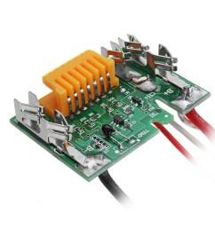 makita bl1430 dc 14v tool battery protection board charging control pcb pcm protect circuit board [ 1000 x 1000 Pixel ]