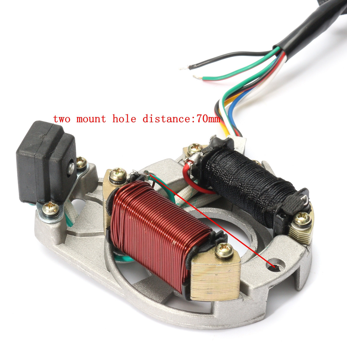 hight resolution of 50cc 70cc 90cc 110cc cdi wire harness assembly wiring kit atv electric start quad