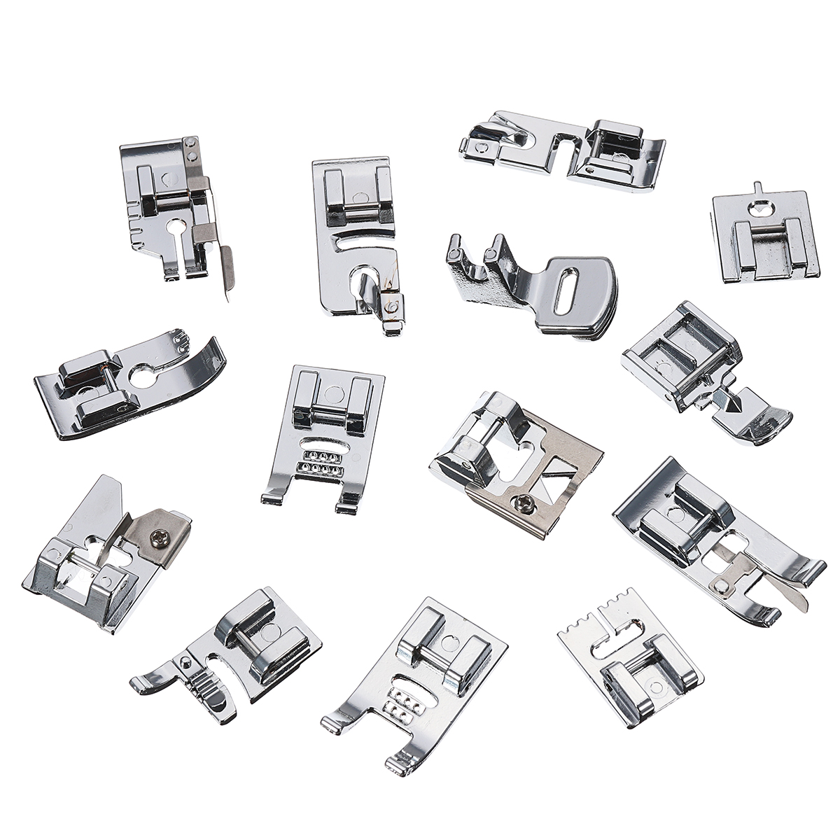 48pcs Sewing Machine Presser Foot Feet Tool Kit Set