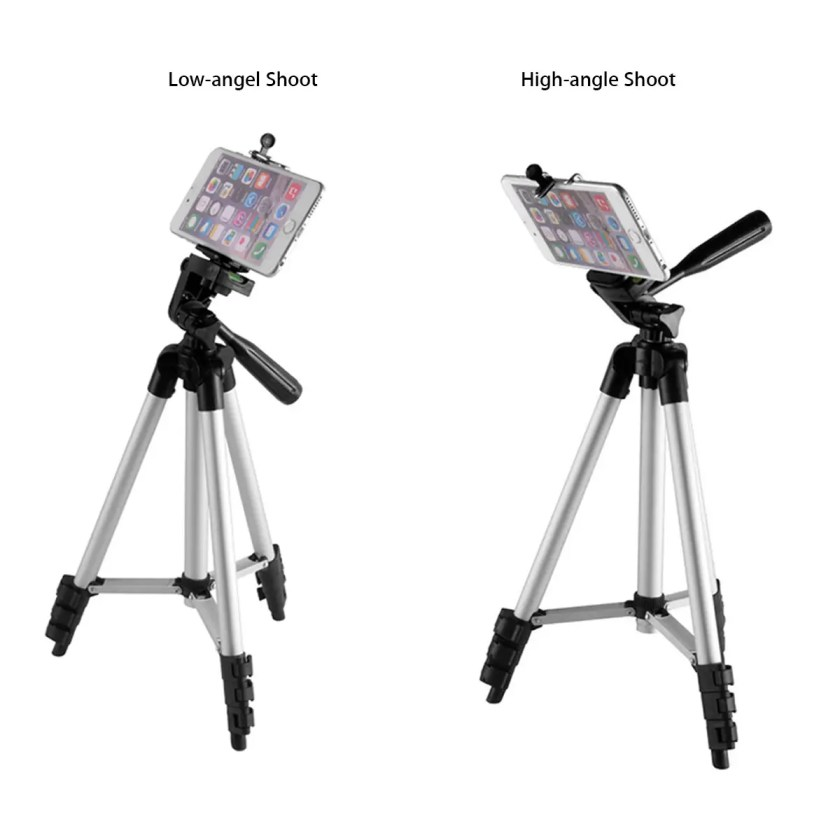 Bakeey Professional Camera Adjustable Tripod Stand Holder Live Selfie Stick for iPhone 8 Plus X S8 S9