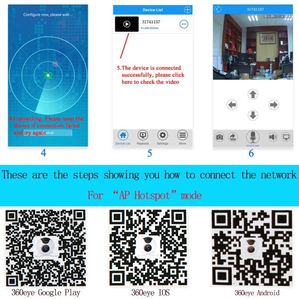 720 P Wireless Security Network CCTV IP Camera Night Vision WIFI Web Cam 13