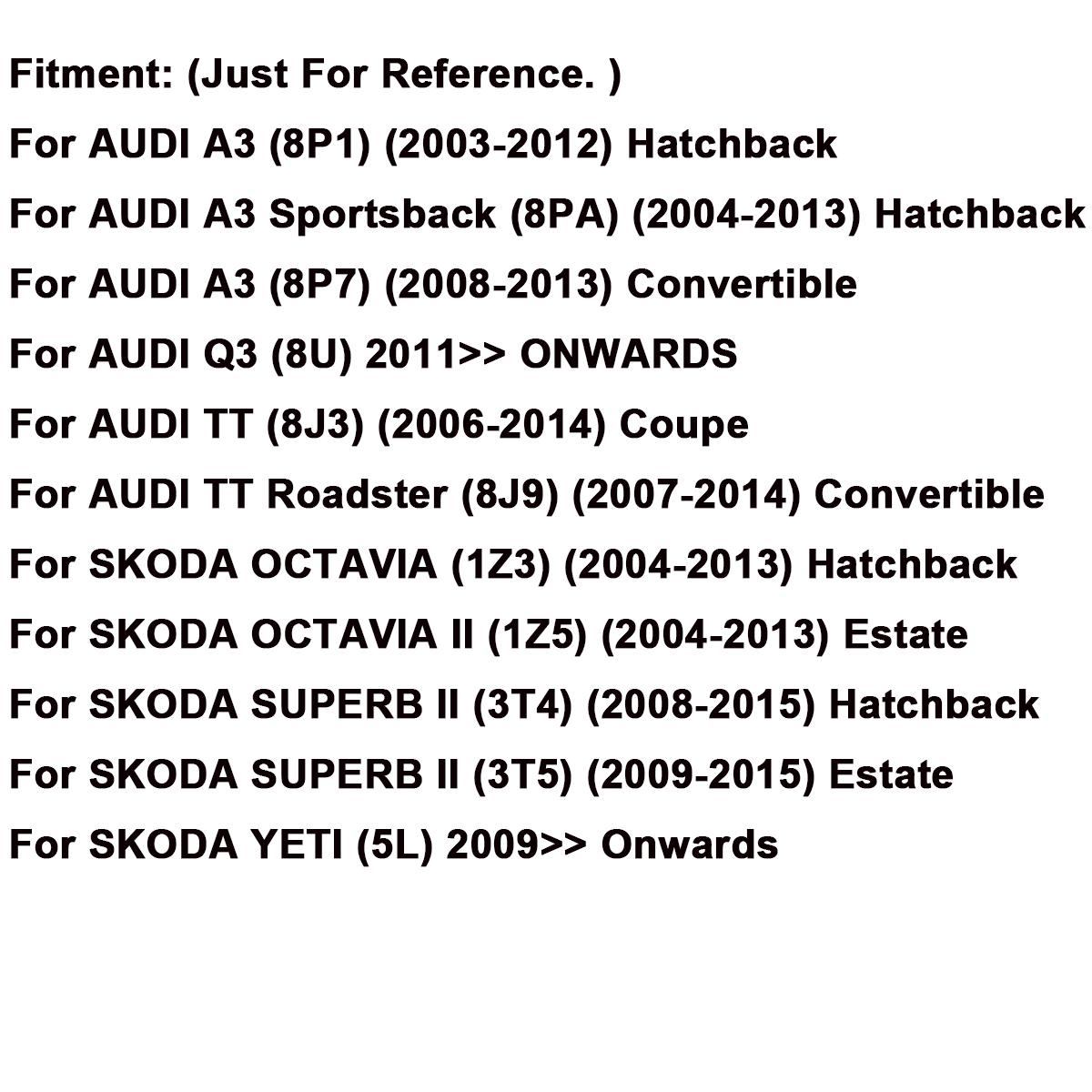 Heater blower motor fan 1k2820015a for audi a3 q3 tt skoda