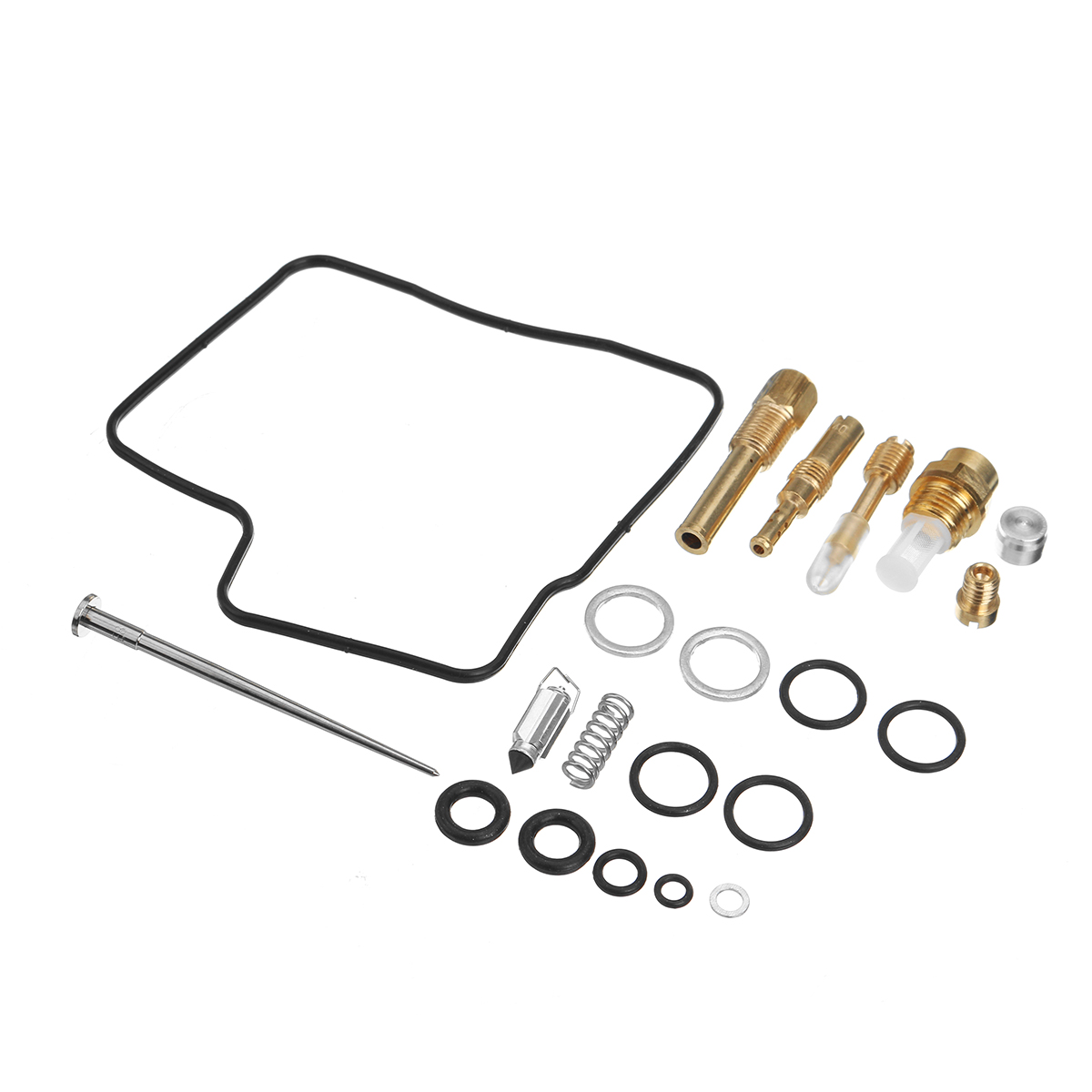 Carburetor rebuild kit set fit for honda vt700 vt750