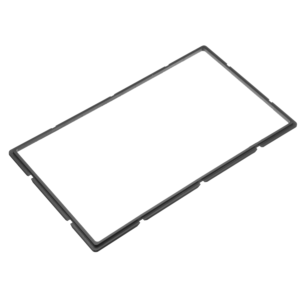 2 din car radio stereo fascia panel plate frame for toyota