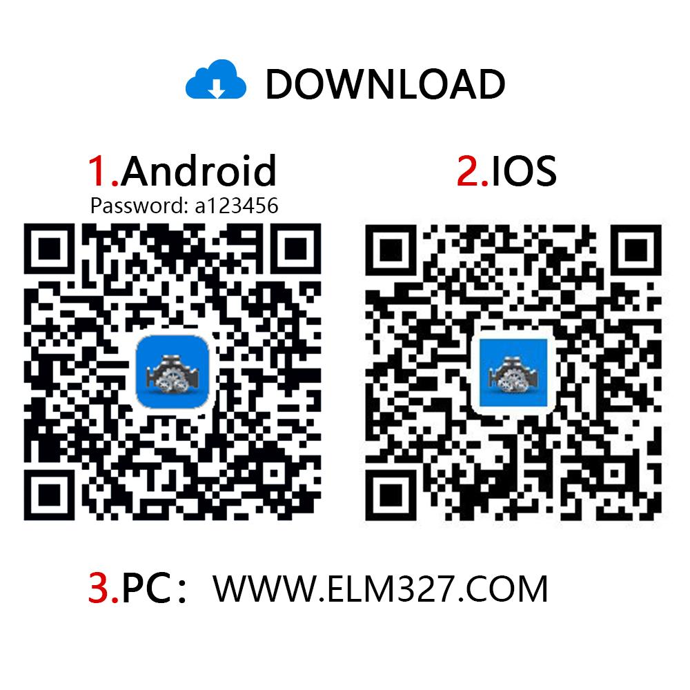 Viecar vp004 elm327 v2.2 wifi with type c usb interface