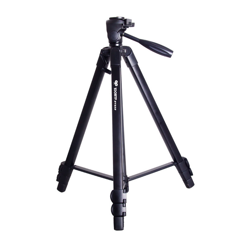 Complete Tripods - 100BTF BY858 Foldable 56CM 150CM Tripod with Removable Ball Head Quick Release Plate Max Load 10KG for sale in Outside South ...