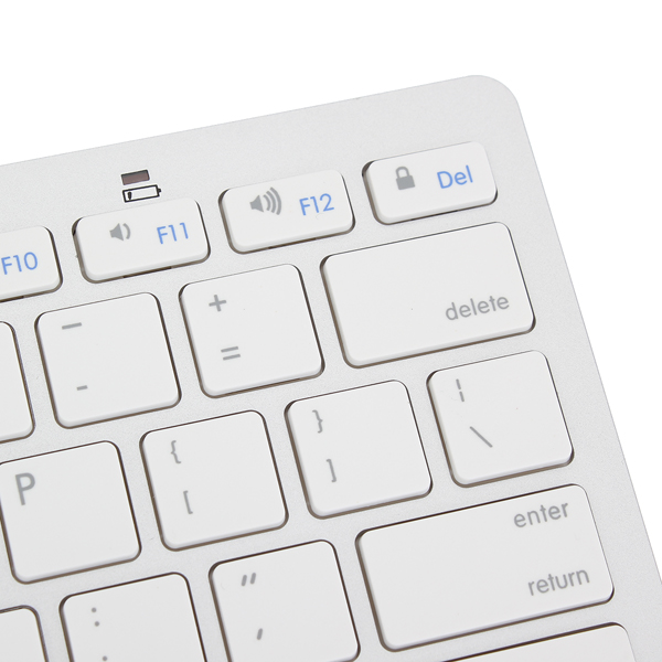 bluetooth Wireless White Keyboard For Macbook Mac iPad
