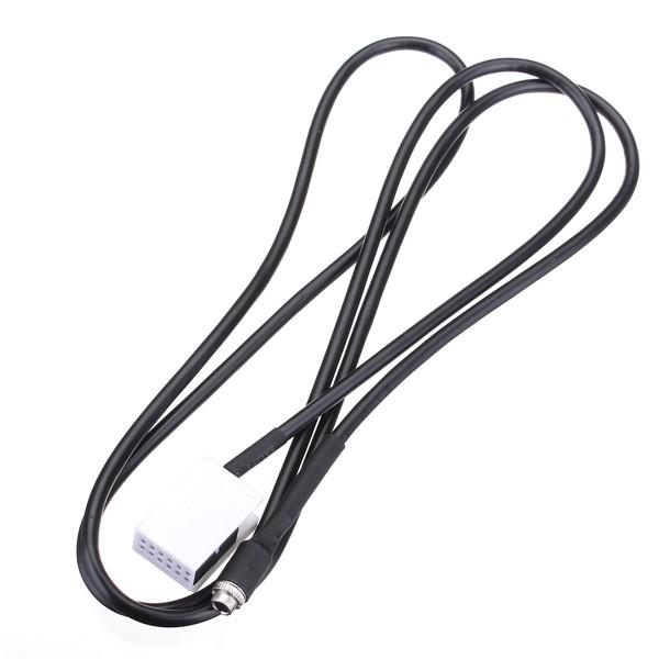 3.5mm aux audio mp3 female input cable for audi a3 tt a4