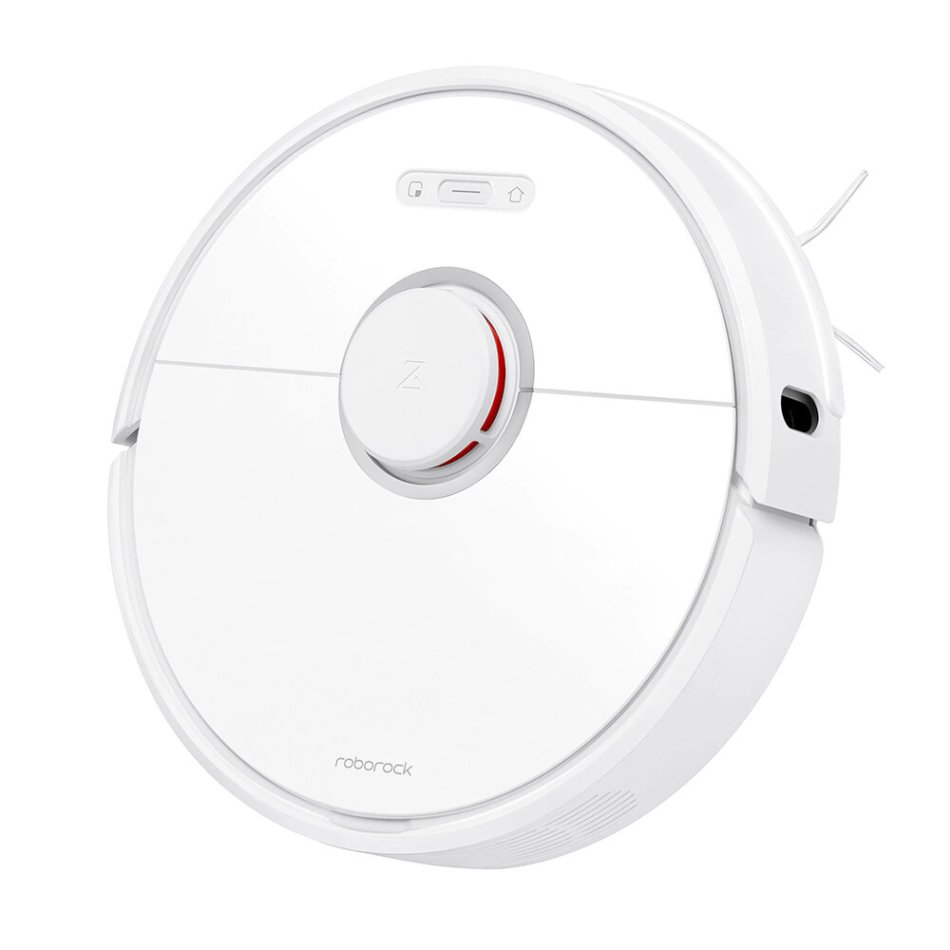 [International Version] Roborock S6 Robot Vacuum Cleaner 2000Pa Strong Suction, APP Control, LDS Lidar Scanning and SLAM Algorithm, 5200mAh Battery from Xiaomi Ecological Chain