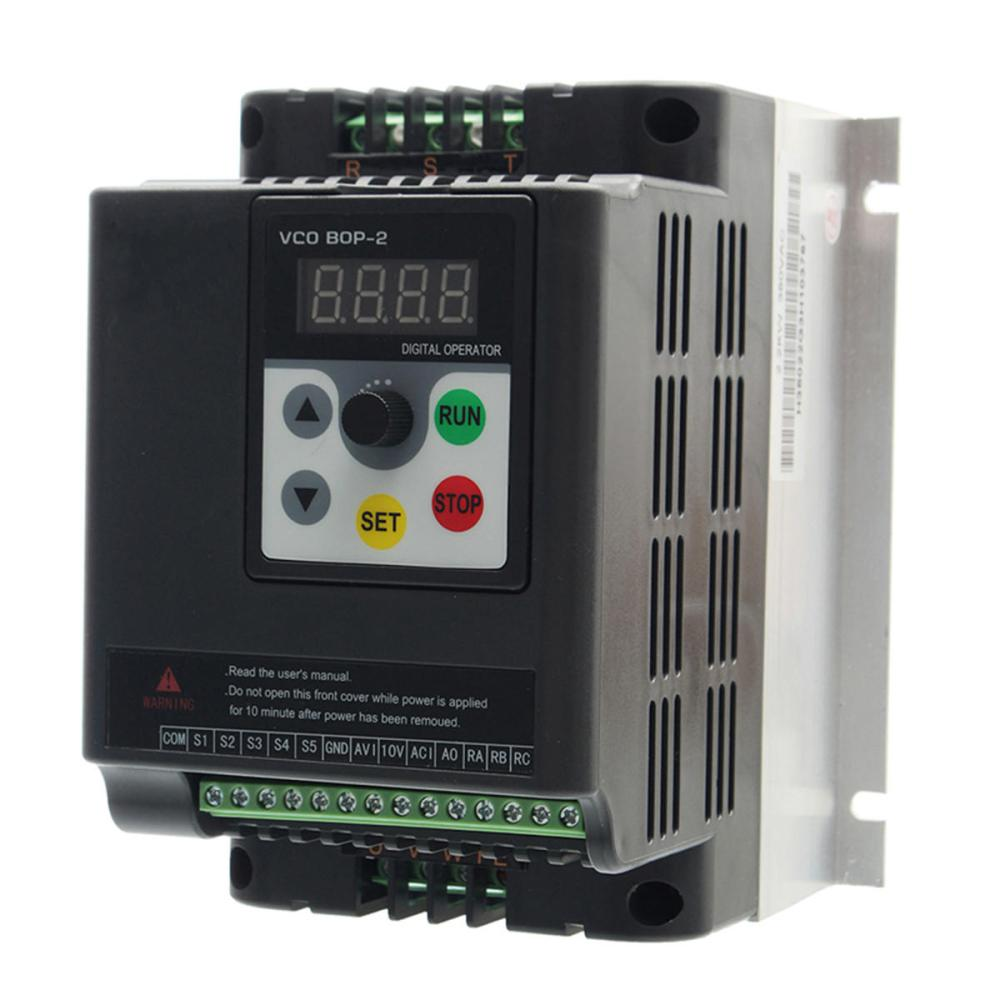 medium resolution of 1 5kw 380v 3 phase vfd variable frequency inverter motor drive speed controller converter cod