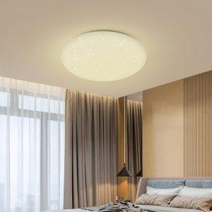 Στα 32€ από αποθήκη Τσεχίας | Blitzwolf® BW-LT20 24W Smart LED Ceiling Light Mount WiFi APP Control Work with Amazon Google Home AC100-240V – White Lampshade
