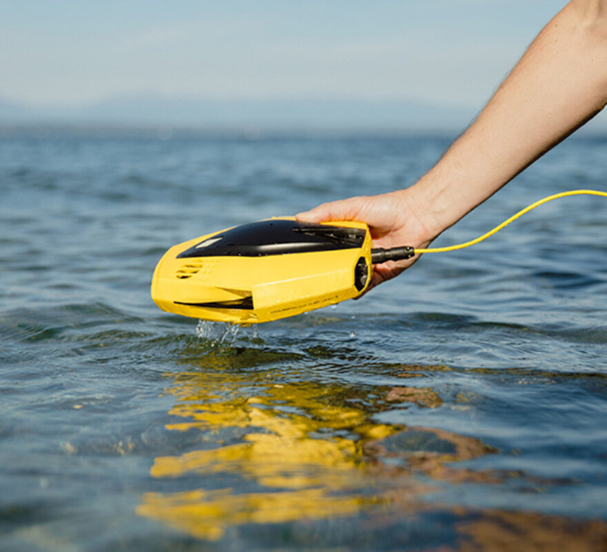 CHASING Dory Palm-Sized APP Control Underwater Drone with 1080p Full HD Camera for Real Time Viewing WiFi Buoy RC Drone