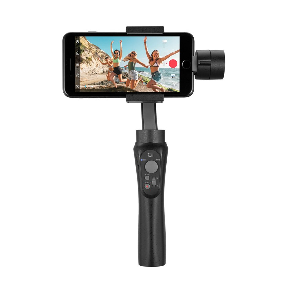 ZHIYUN CINEPEER C11 3-Axis Vlog Handheld Gimbal Stabilizer With Dolly Zoom Panoranma Mode for Smartphone Action Camera