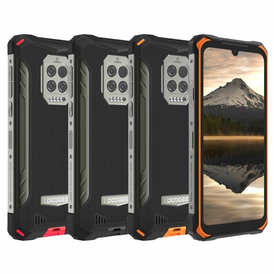 DOOGEE S86 Pro Global Bands 6.1 inch IP68&IP69K Waterproof NFC 8500mAh 8GB 128GB Helio P60 16MP AI Triple Camera 4G Octa core Smartphone