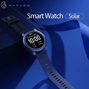Στα €23.57 από αποθήκη Κίνας | BT 5.0Haylou Solar LS05 Full Round Screen Wristband 12 Sport Modes Tracker Heart Rate Monitor 30 Days Standby Smart Watch Global Version