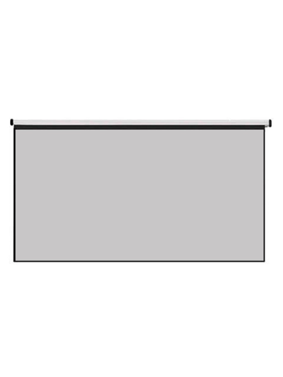 Thinyou Matte Gray Fabric Fiber Glass Wall hanging Projector Screen 100 inch 4:3/16:9 Projector Curtain for Home Theater Cinema Movies Projector