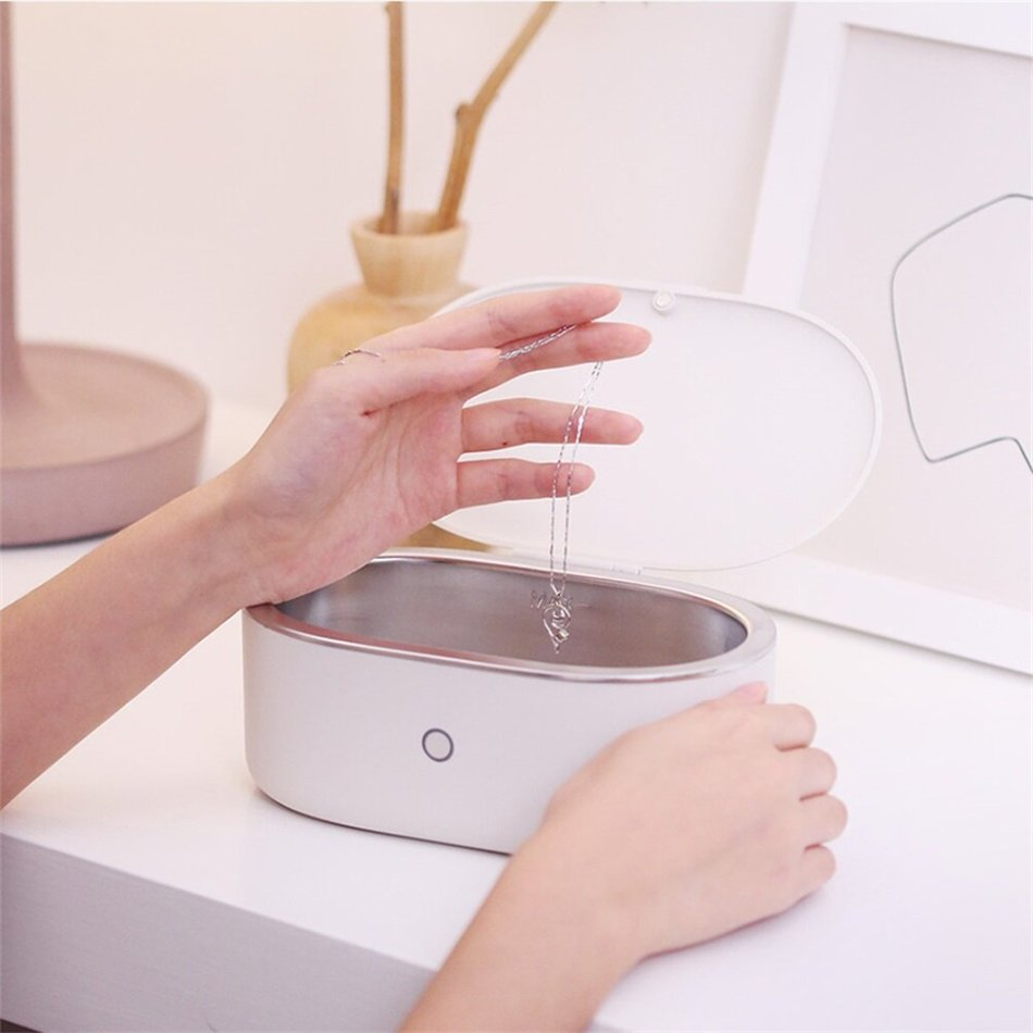 Youpin Dr.Xiaoze Ultrasonic Cleaner Waterproof Ultrasound Sonic Vibrator Cleaning Machine Jewelry Glasses Watch Washing