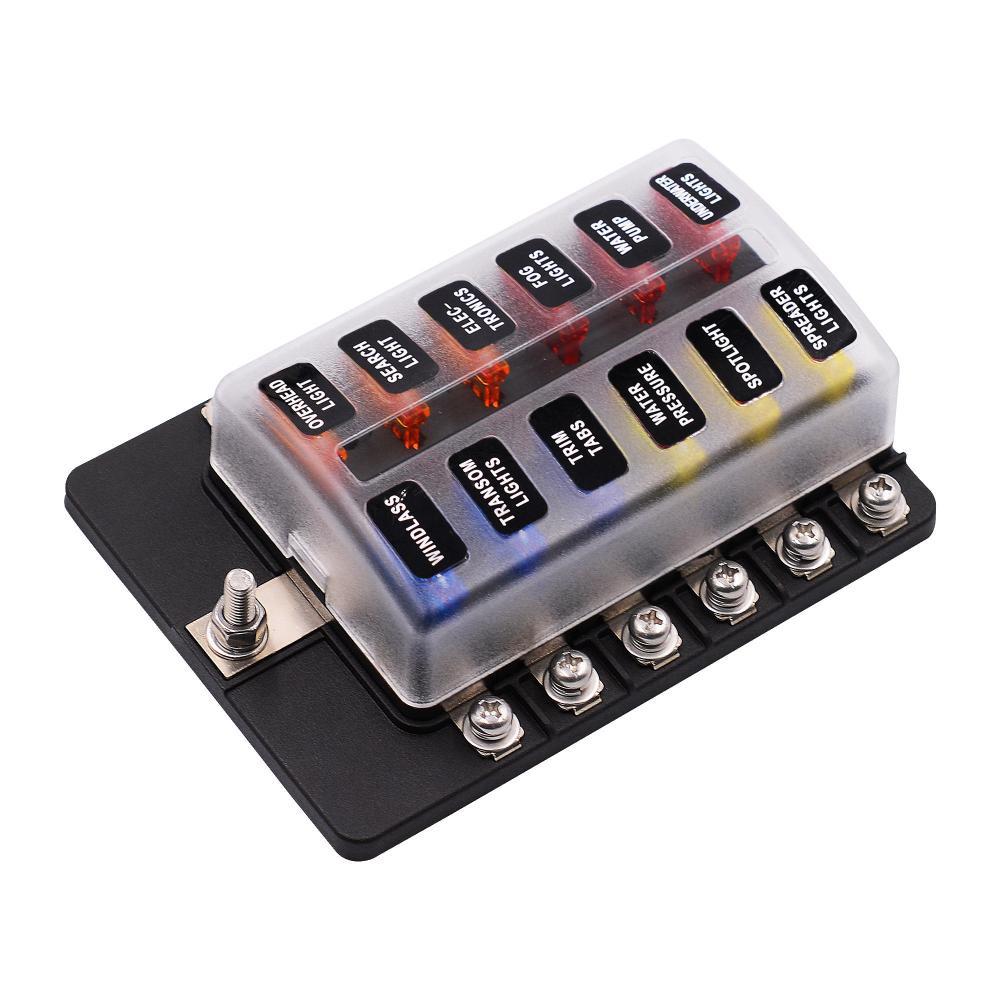 medium resolution of imars 12 way fuse box 12v 32v circuit standard blade block holder kit car caravan cod