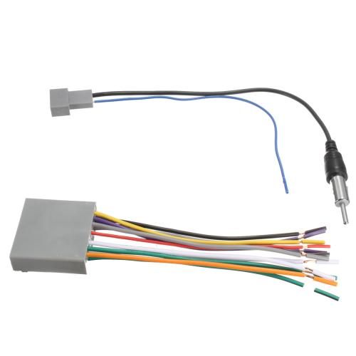 small resolution of car stereo radio player wire harness dvd antenna for honda odyssey civic cr v cod
