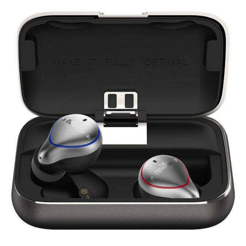 [True Wireless] Mifo O5 bluetooth 5.0 Balance Armature Drive Unit + Dynamic Drive Mini Binaural In-ear Sports Waterproof Stereo Hifi Earphone