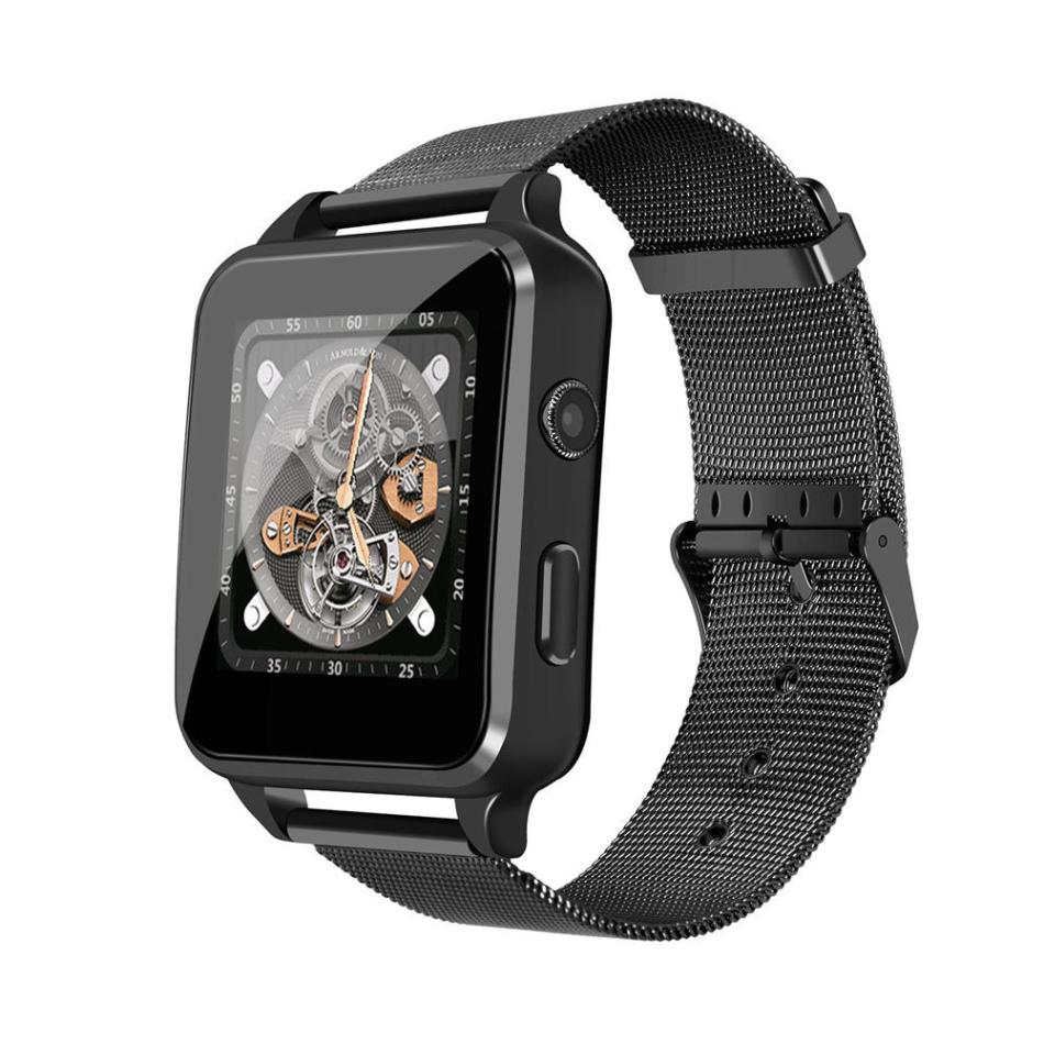 Bakeey X8 1.54inch Nano Sim&TF Card Support bluetooth Call Smart Watch Phone Sleep Monitor Video Record SMS