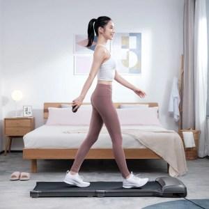 Στα 249€ από αποθήκη Τσεχίας | [EU Direct] WalkingPad C1 PRO Folding Treadmill Manual/Automatic Modes Walking Pad Non-slip Sports Fitness Walking Machine with EU Plug