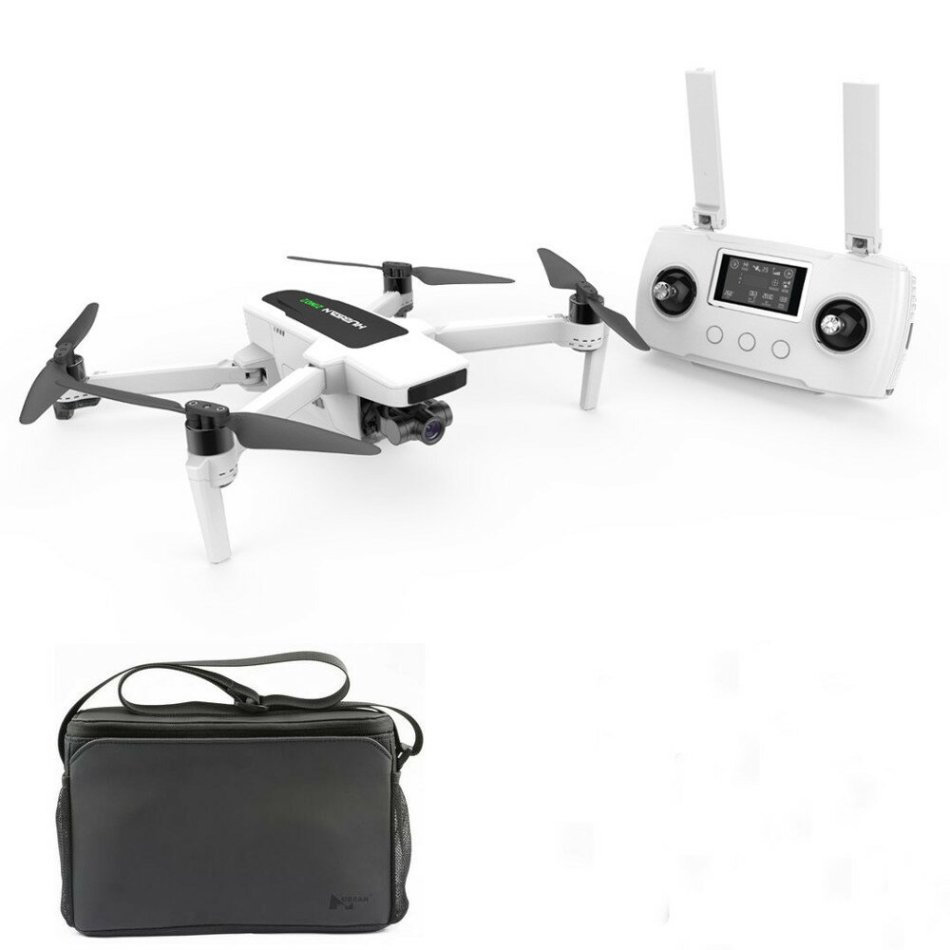 Hubsan Zino 2 GPS 8KM WiFi FPV 4K 60fps UHD Camera 3-axis Gimbal RC Drone Quadcopter RTF Portable Version with Storage Bag