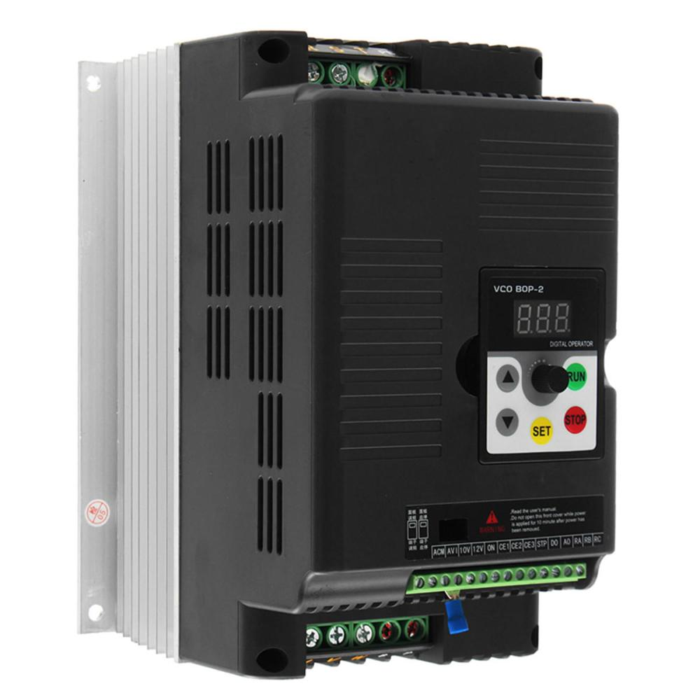 medium resolution of 5 5kw 220v 3 phase output variable frequency inverter vector motor speed drive cod