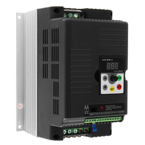 small resolution of 5 5kw 220v 3 phase output variable frequency inverter vector motor speed drive cod