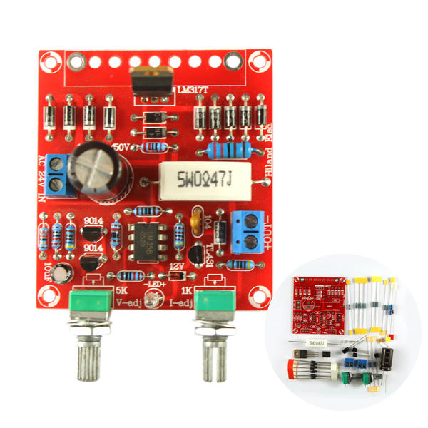 Programmable Power Supply With Lm317