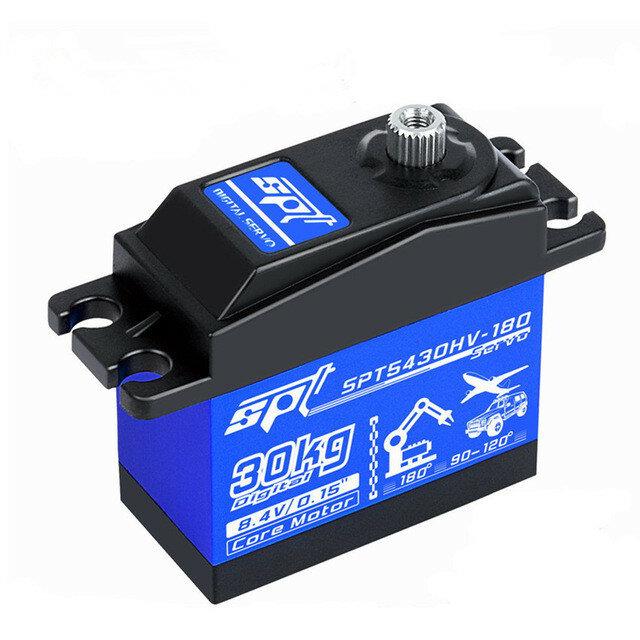 SPT Servo SPT5430HV-180 30KG High Voltage High Speed Digital Servo for RC Car Robot Fixed Wing