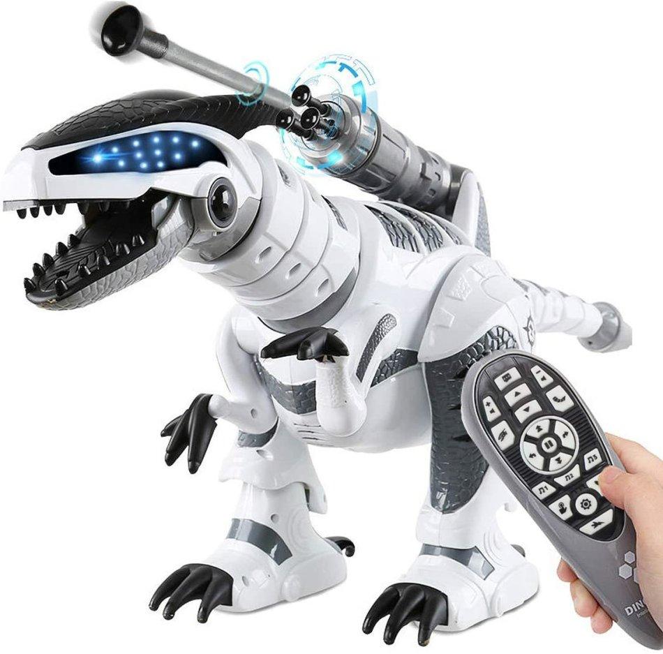 LE NENG Intelligent Dinosaur Fighting Robot Programmable Touch-sense Music Dance Toy for Kids