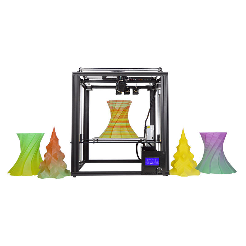 US$619.55Zonestar® Z9M3 3-in-1-out Mixed Color Full Metal 3D Printer 300*300*400mm Printing Size With Three Extruder/Auto Mixing Color Engine/Auto-Leveling/Offline Printing/3.5inch LCD Screen3D Printer & SuppliesfromElectronicson banggood.com