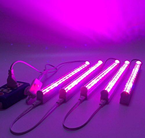 5pcs Lot Led Grow Light 660nm Red And 455nm Blue Led Lamp For Plants Input Voltage 85 265v Sale Banggood Com