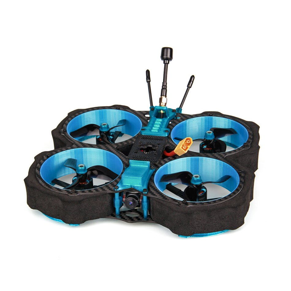 Eachine Cvatar 142mm 4S 3 Inch Cinewhoop Duct FPV Racing Drone PNP/BNF Analog Version RunCam Nano2 Cam F722 DJI FC 1507 3600KV 35A ESC