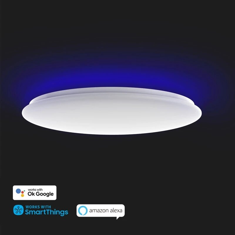 Yeelight Arwen YLXD013-C Smart LED Ceiling Colorful Light 550C Adjustable Brightness Work With OK Google Home Alexa