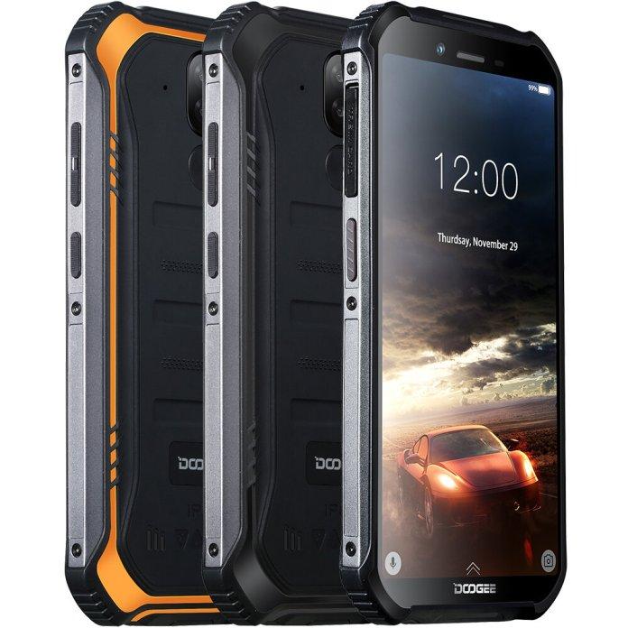 DOOGEE S40 5.5 inch IP68 IP69K Waterproof NFC Android 9.0 4650mAh 3GB 32GB MT6739 4G SmartphoneMobile PhonesfromPhones & Telecommunicationson banggood.com