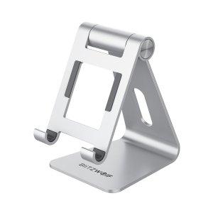 Στα €9.81 από αποθήκη Κίνας | BlitzWolf® BW-HT2 Tablet/Phone Holder Portable Foldable Adjustable Desktop Stand Bracket for iPhone 12 Cell Phone Tablet