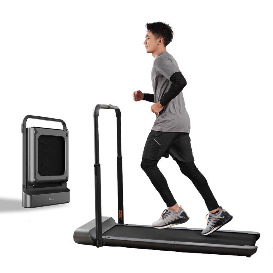 [EU DIRECT] WalkingPad R1 Pro Treadmill Manual/Automatic Modes Folding Walking Pad Non-slip Smart LCD Display 10Km/H Running Fitness Equipment with EU Plug