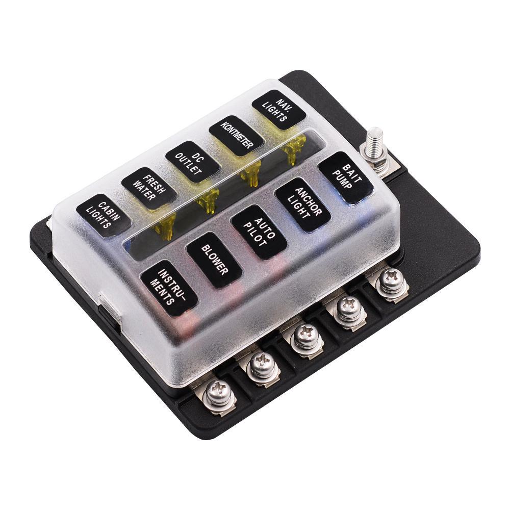 medium resolution of imars 10 way fuse box 12v 32v circuit standard blade block holder water in fuse box car source astra h