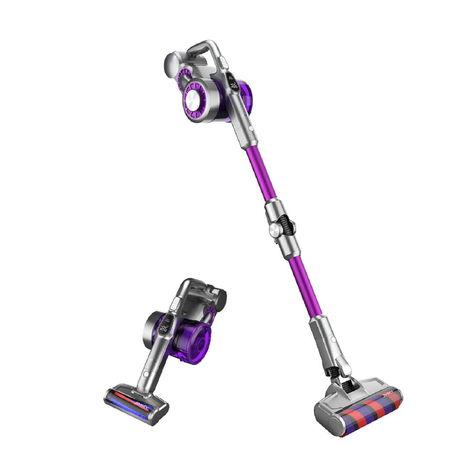 JIMMY JV85 Pro Cordless Flexible Handheld Vacuum Cleaner 25000Pa Suction, 200AW Strong Suction 70 Minutes Run Time LED Display Anti-winding