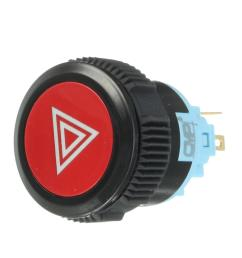 12v 5 pin led push button switch plastic lamp car horn switch access control switch red cod [ 1200 x 1200 Pixel ]