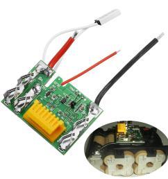 18v li ion battery protection circuit module board for makita drill cod [ 1200 x 1200 Pixel ]