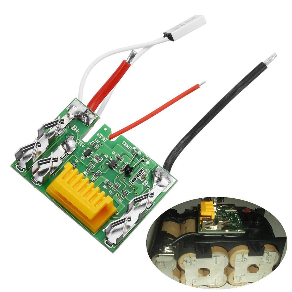 medium resolution of 18v li ion battery protection circuit module board for makita drill cod