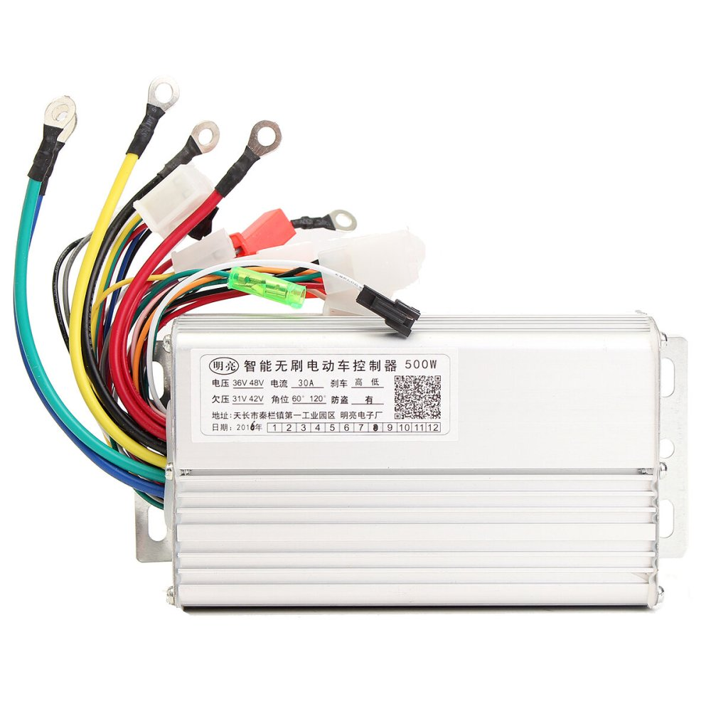 medium resolution of 48v 500w 30a brushless motor controller for electric scooters bike cod