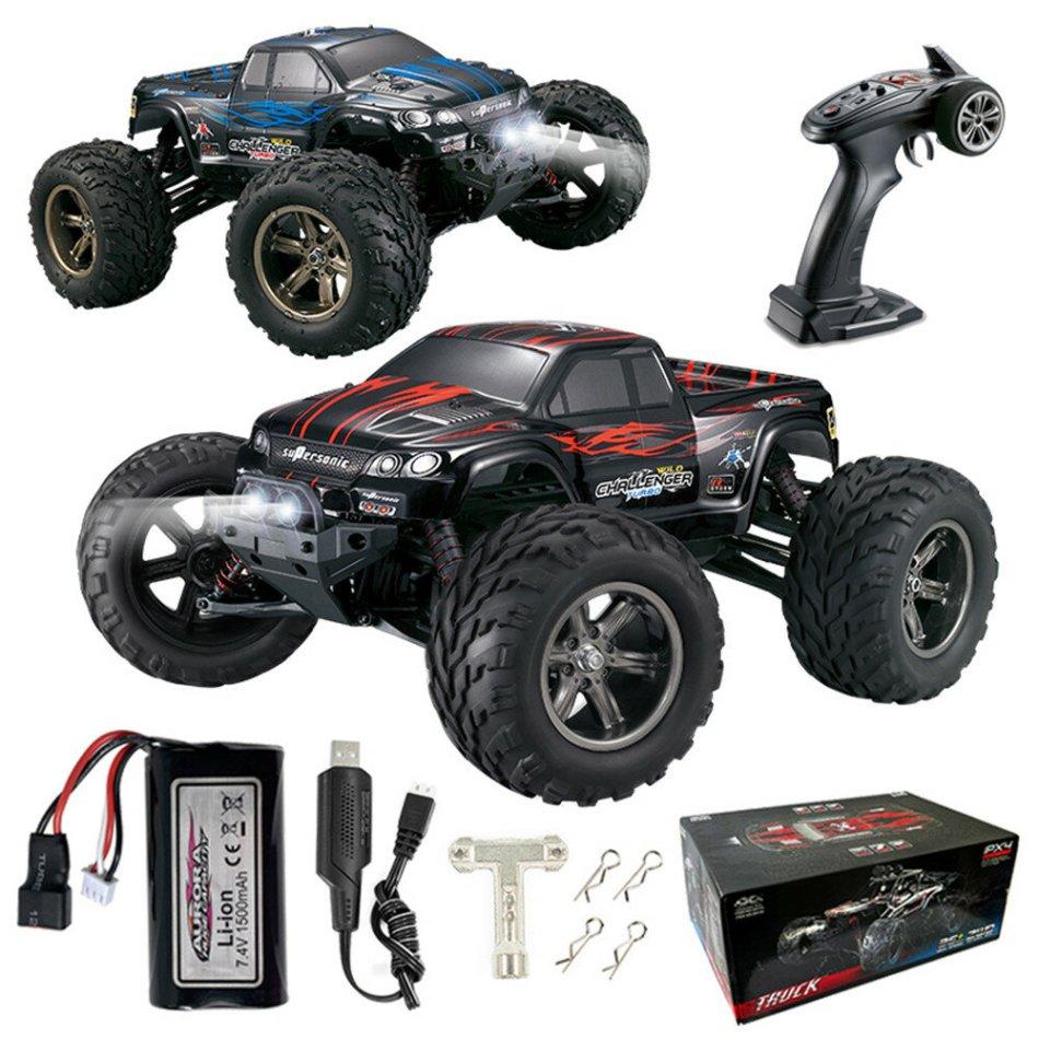 Xinlehong Toys X9115 RTR Upgraded 1/12 2.4G 2WD 42km/h RC Car LED Light Vehicles Big Foot Models Toys