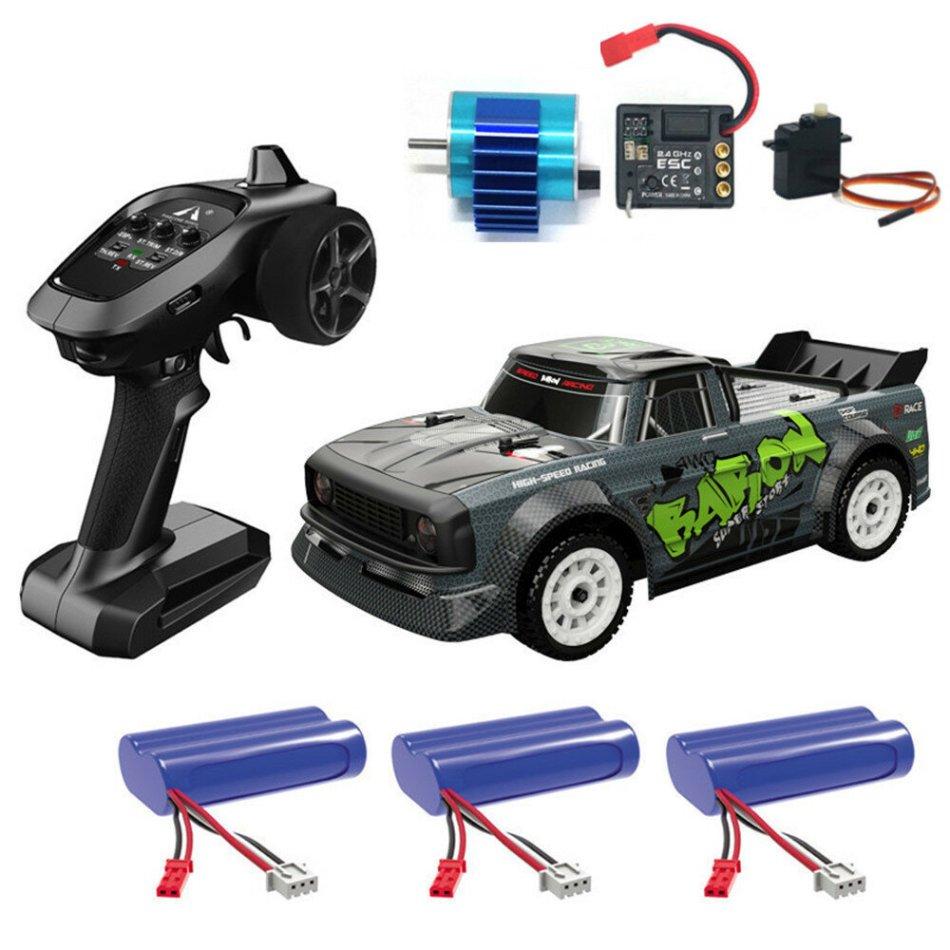 SG 1603 RTR Brushless 60km/h Several Battery 1/16 2.4G 4WD RC Car LED Light Proportional Vehicles Model